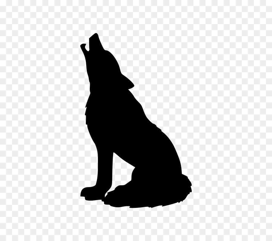 Cartoon wolf transparent clip. Wolves clipart bear