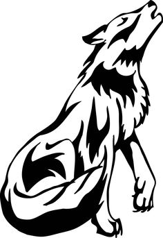 Panda free . Wolf clipart black and white