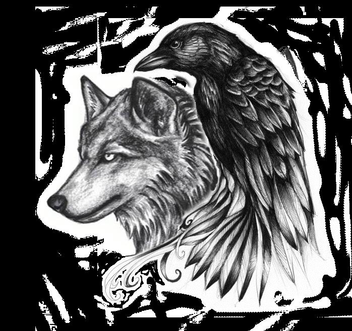 Ravenwolf google search adelle. Wolf clipart boho