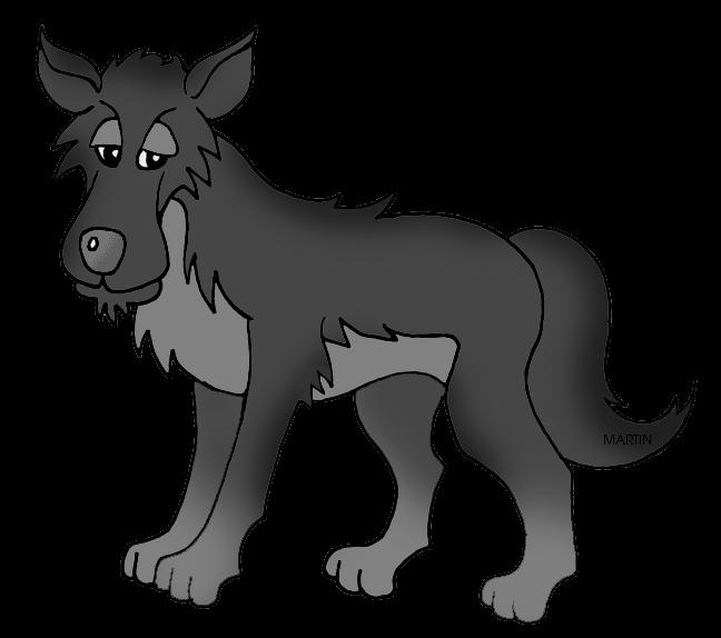 Wolves clipart logo. Cartoon wolf clipartblack com