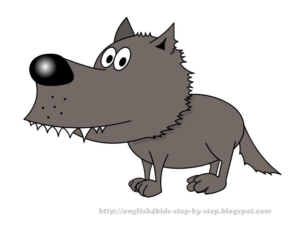 Pictures free images transparent. Wolf clipart cartoon
