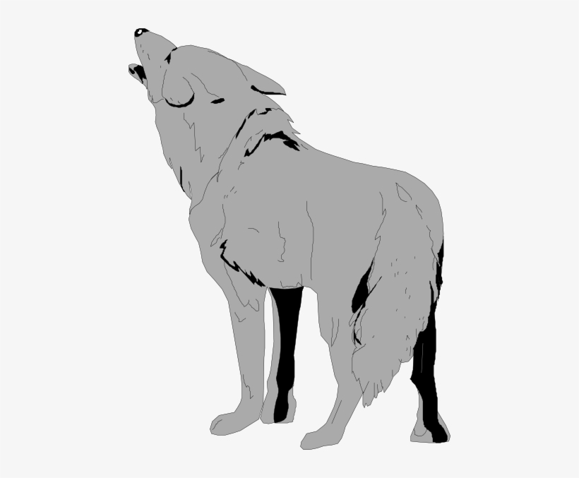 Wolf clipart clear background. Small transparent png image