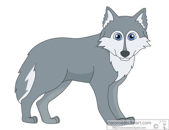 Wolf clipart clip art. Animals pictures