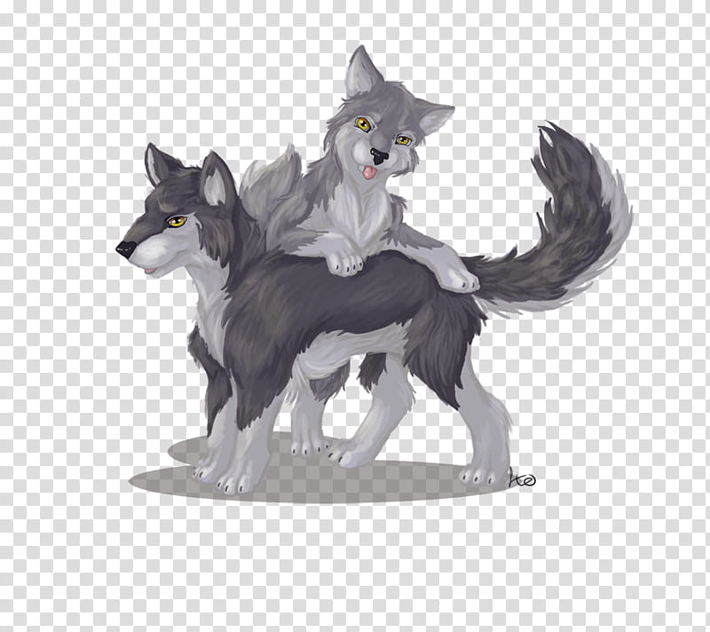 Wolf clipart couple. At wolfy transparent background