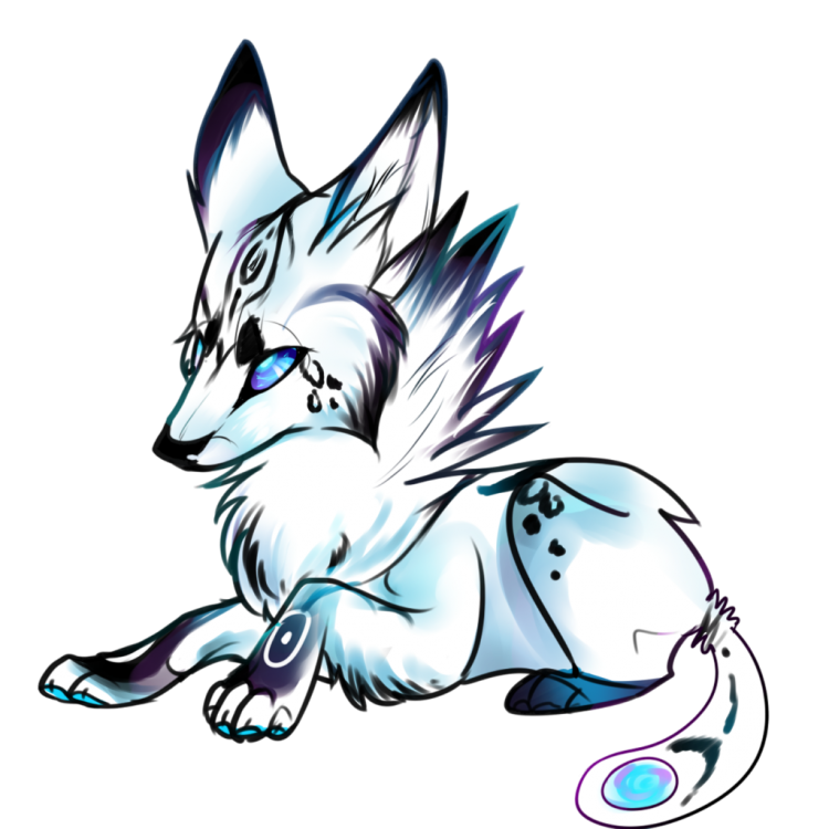 Wolf clipart cute. Drawing drawings easy in