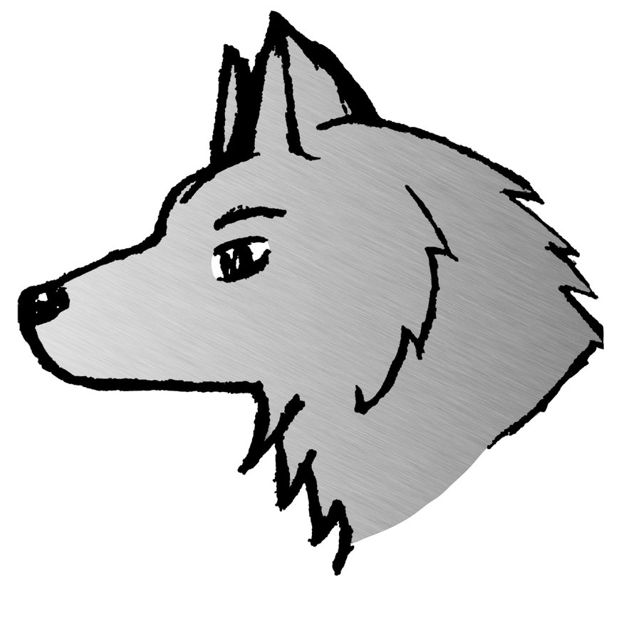 Free drawings download clip. Wolf clipart easy