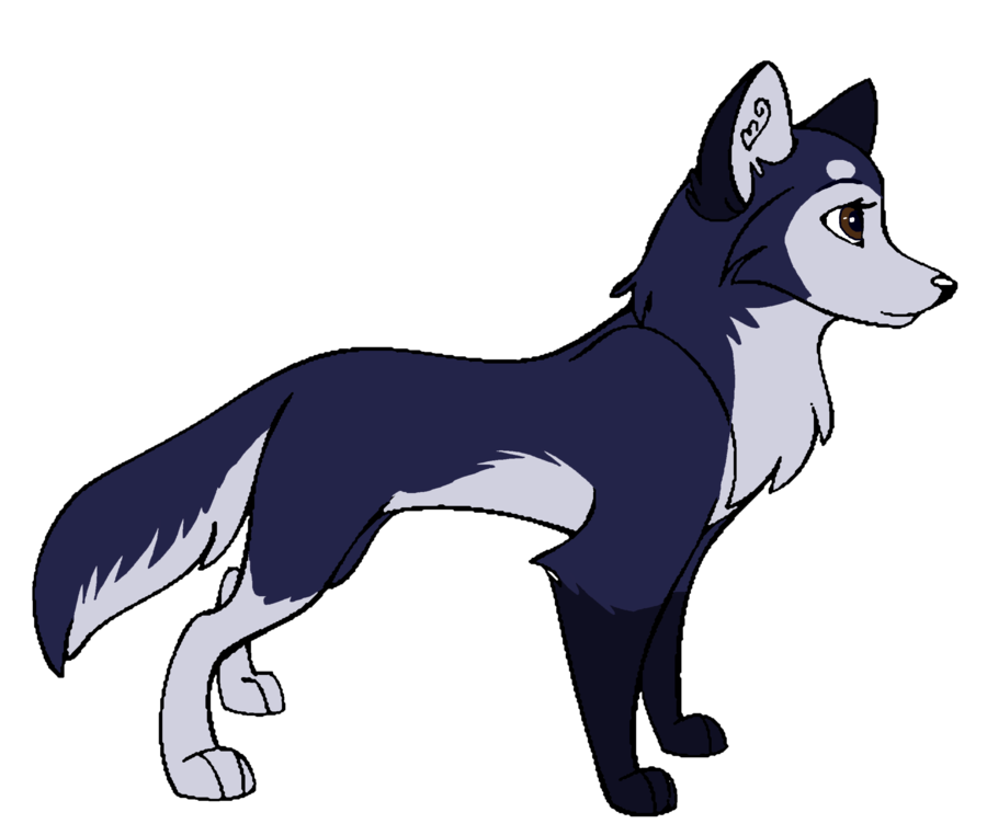 Girl clip art library. Wolf clipart female wolf