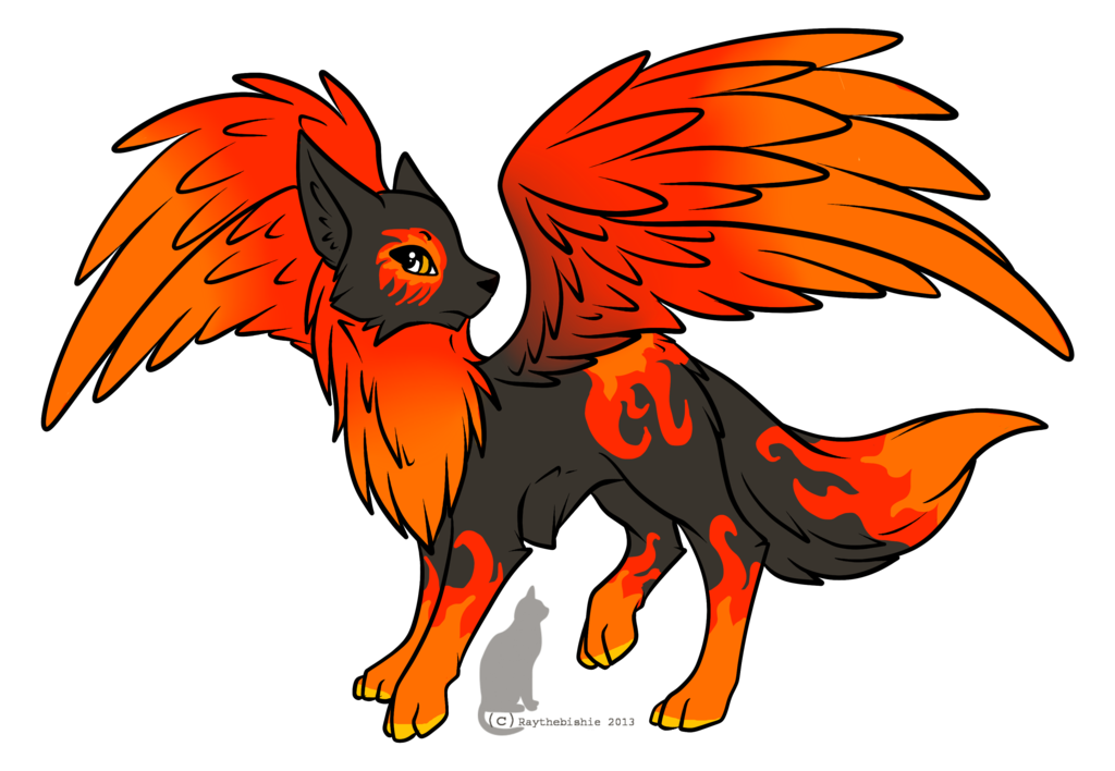 collection of on. Wolf clipart fire