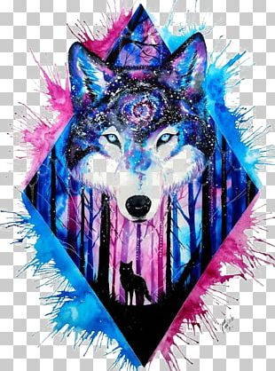 Wolf clipart galaxy. Png images free download