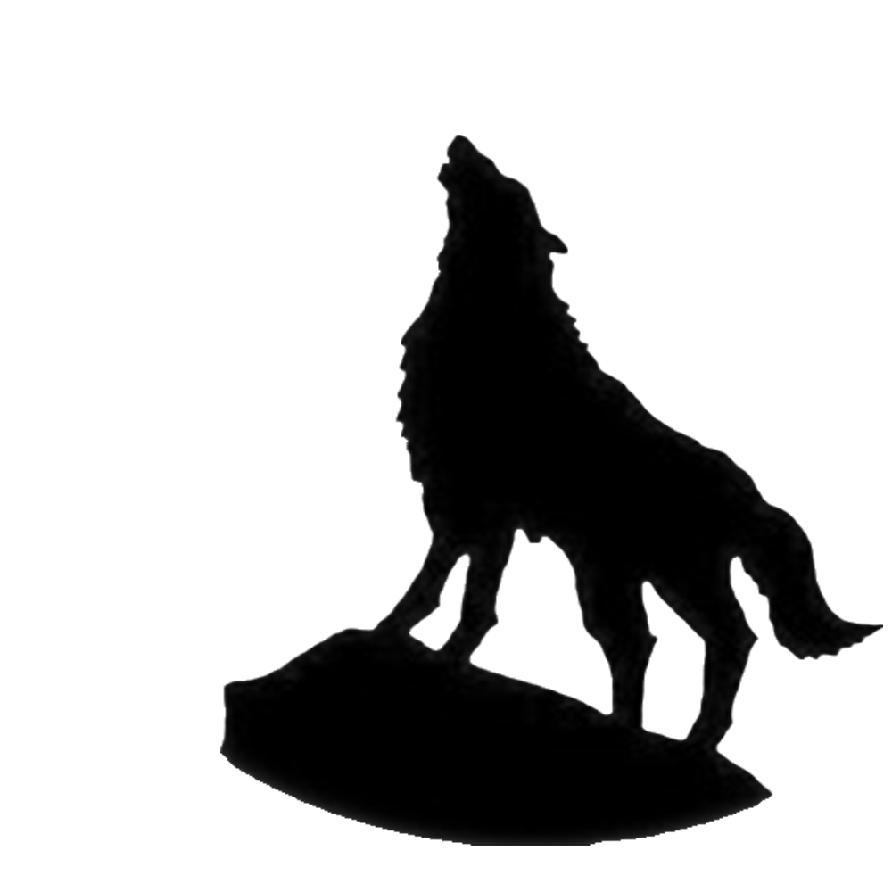 Wolf clipart galaxy. Silhouette wallpaper at getdrawings