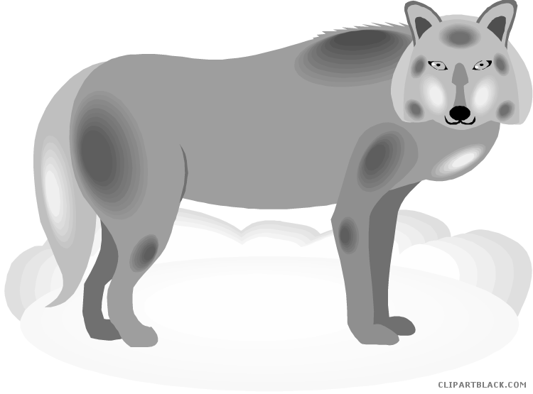 Clipartblack com animal free. Wolf clipart gray wolf