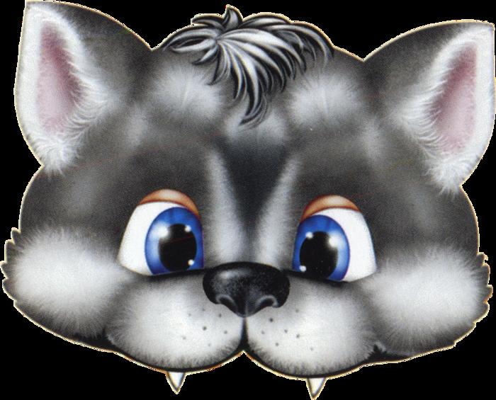 Wolf clipart halloween.  free kids face