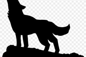 Wolf clipart lone wolf. Portal