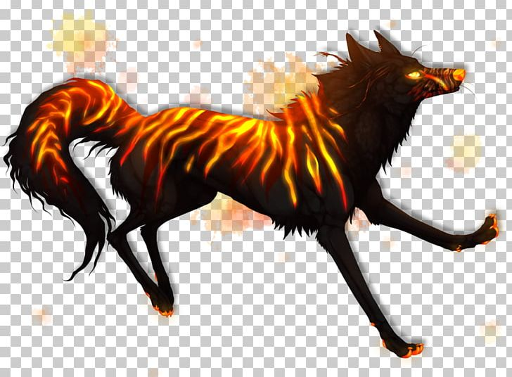 Wolf clipart magic. Gray demon canidae photography