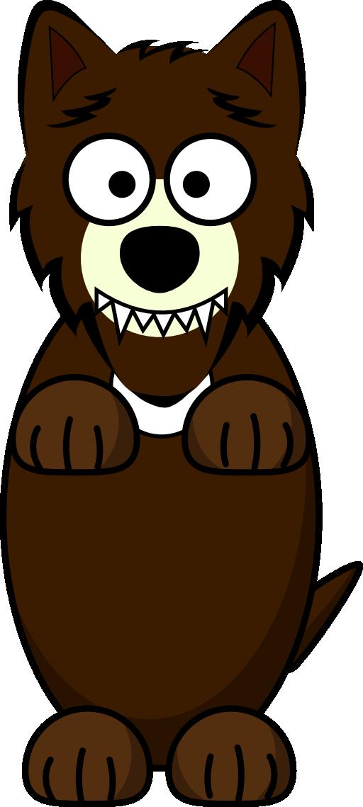 Cartoon i royalty free. Wolf clipart public domain