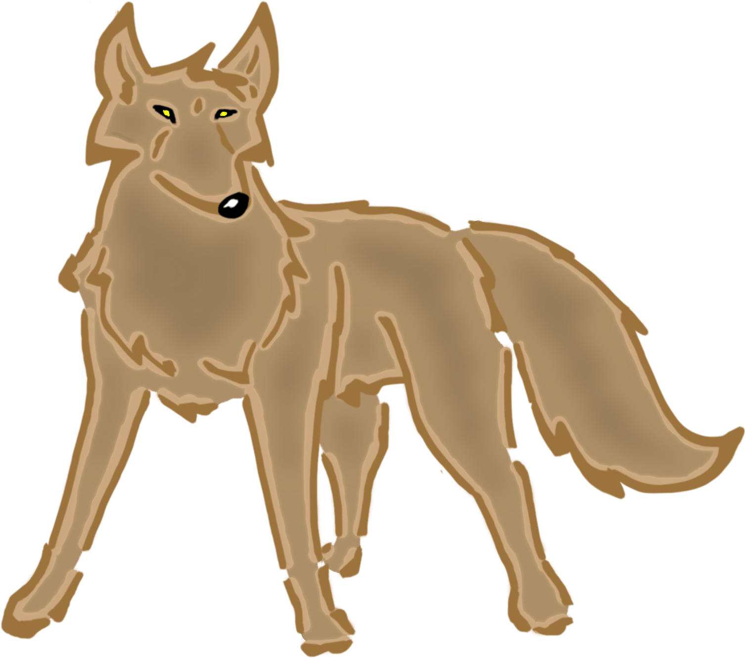 Wolf clipart realistic. Animated free download clip