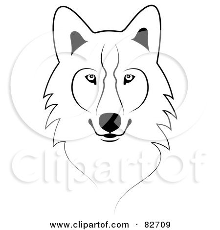 Wolf clipart simple. Pin by brandy schaefer