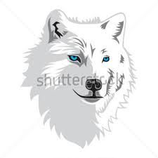 Image result for running. Wolf clipart snow