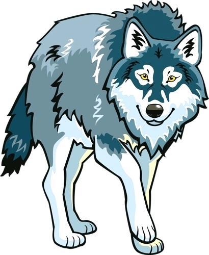 Free white image and. Wolf clipart snow