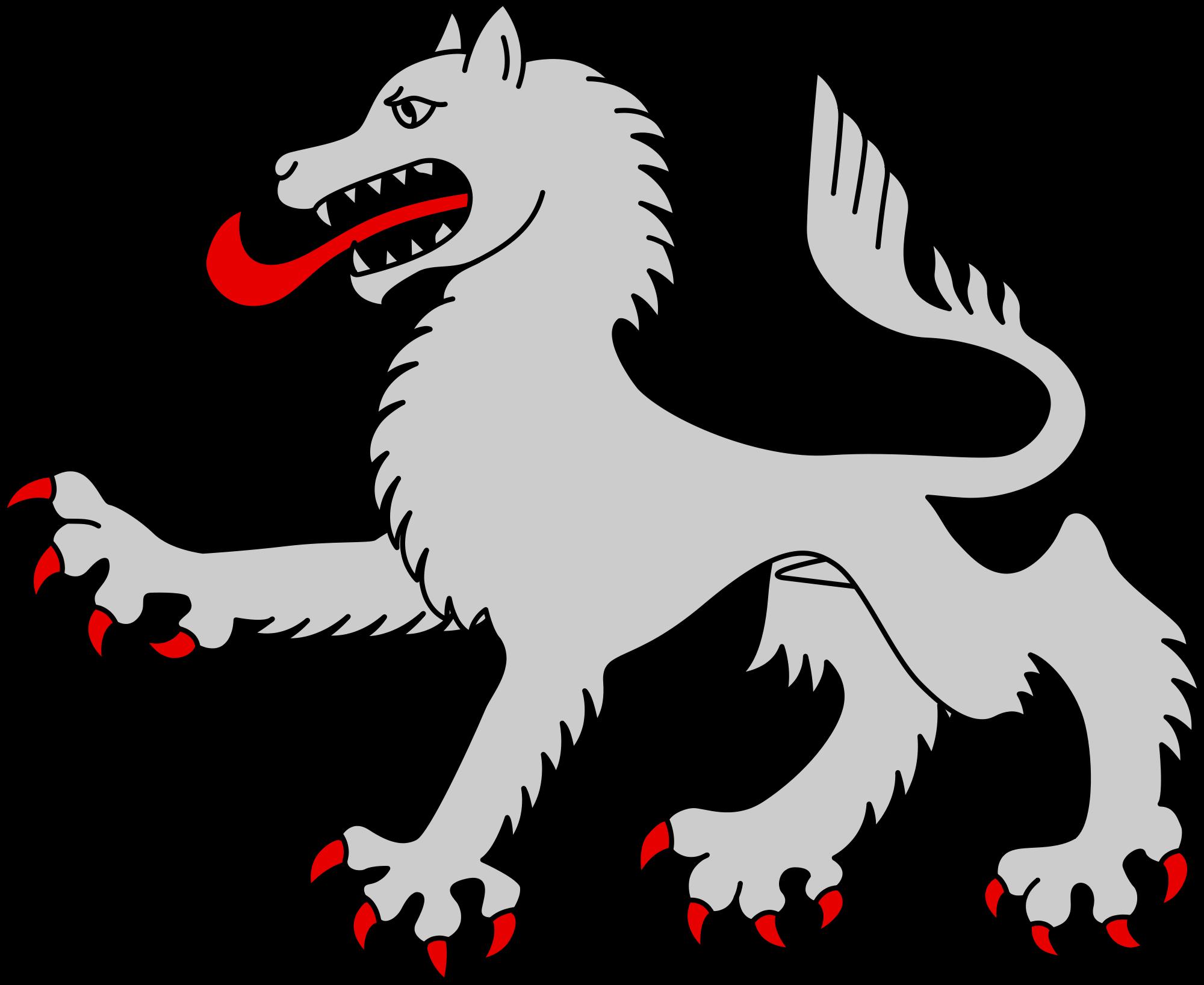 new clip art. Wolf clipart svg