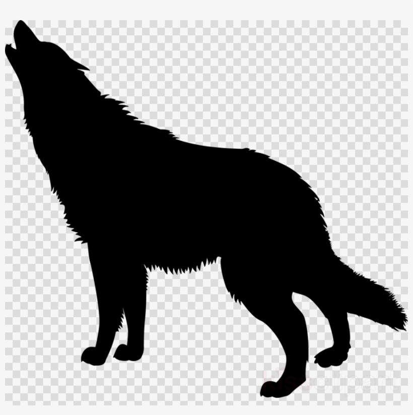 Wolf clipart translucent. Dog silhouette german shepherd