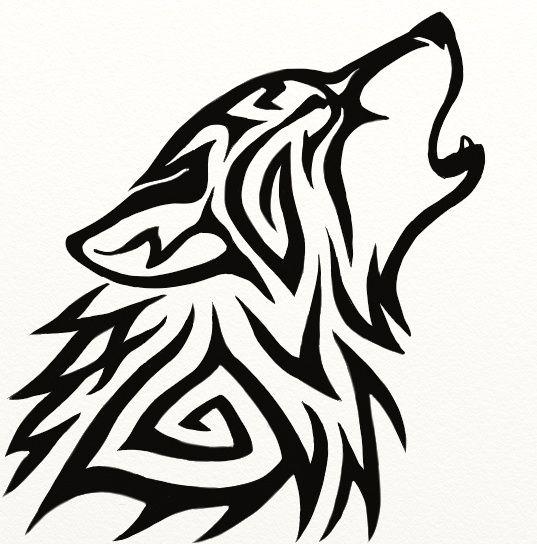 Wolf clipart tribal. Avatar by hareguizer deviantart