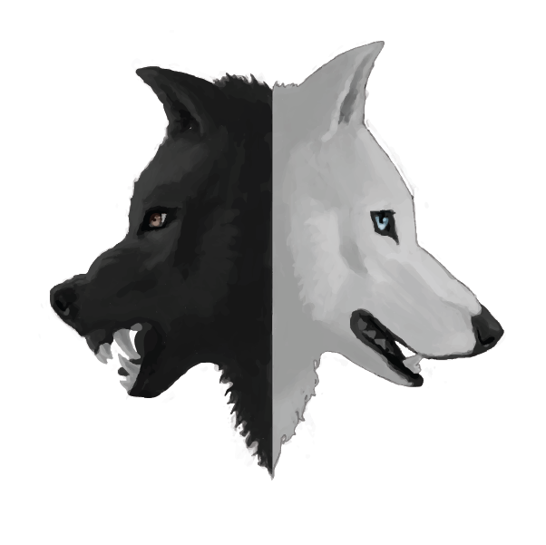 About the one you. Wolf clipart two wolf