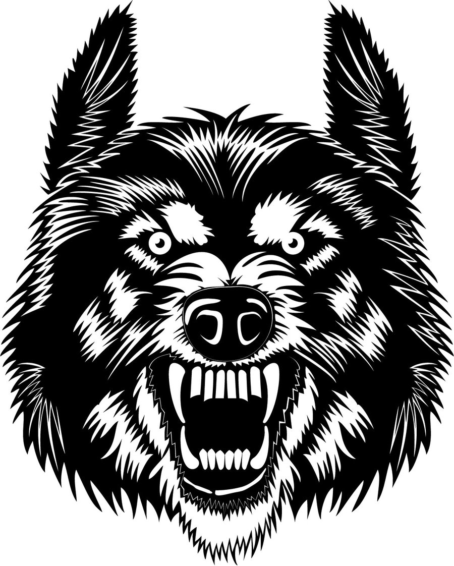 Free download clip art. Wolf clipart vector