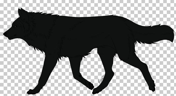 Wolf drawing dog line. Wolves clipart walking