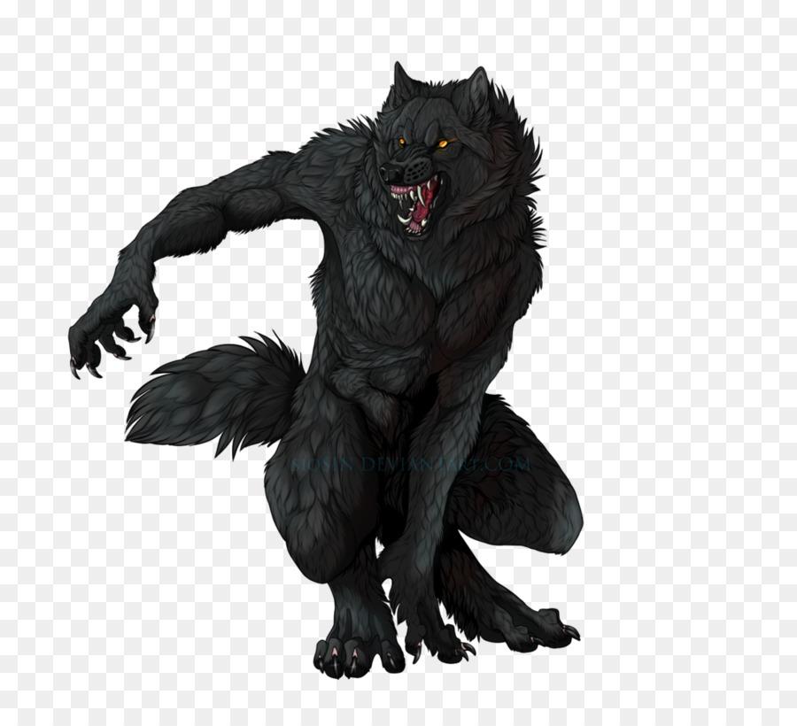 Wolf clipart werewolf. Cartoon dog transparent clip