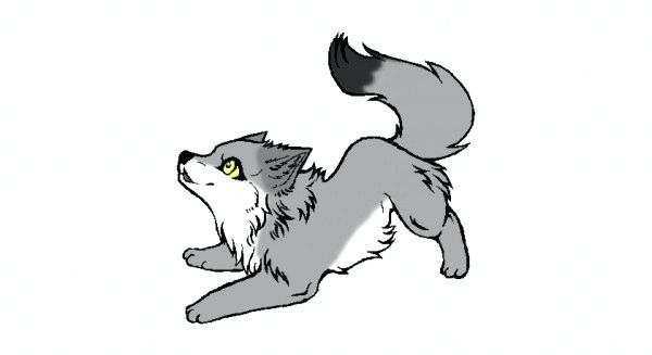 Collection of free download. Wolf clipart wolf pup