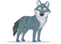 Search results for animal. Wolf clipart