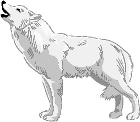 Wolves clipart. Free