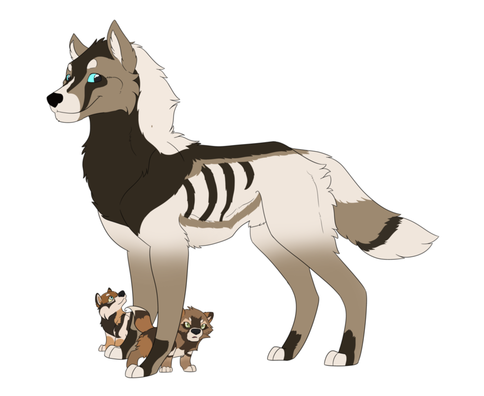 She wolf katy deviantart. Wolves clipart alpha