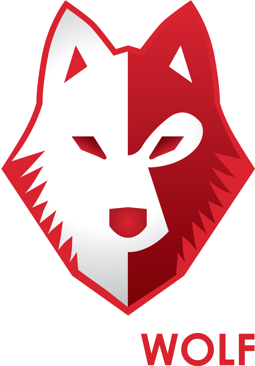 Wolf national cyber defense. Wolves clipart alpha