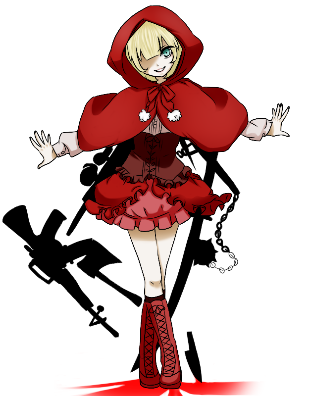 Wolves clipart badass. Red riding hood by