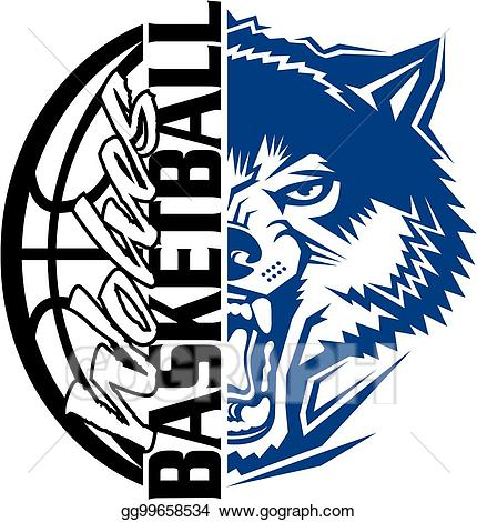 Wolves Clipart Basketball Wolves Basketball Transparent Free For