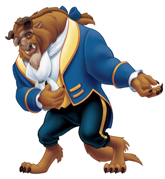 Wolves clipart beauty and the beast. Disney united organization toons