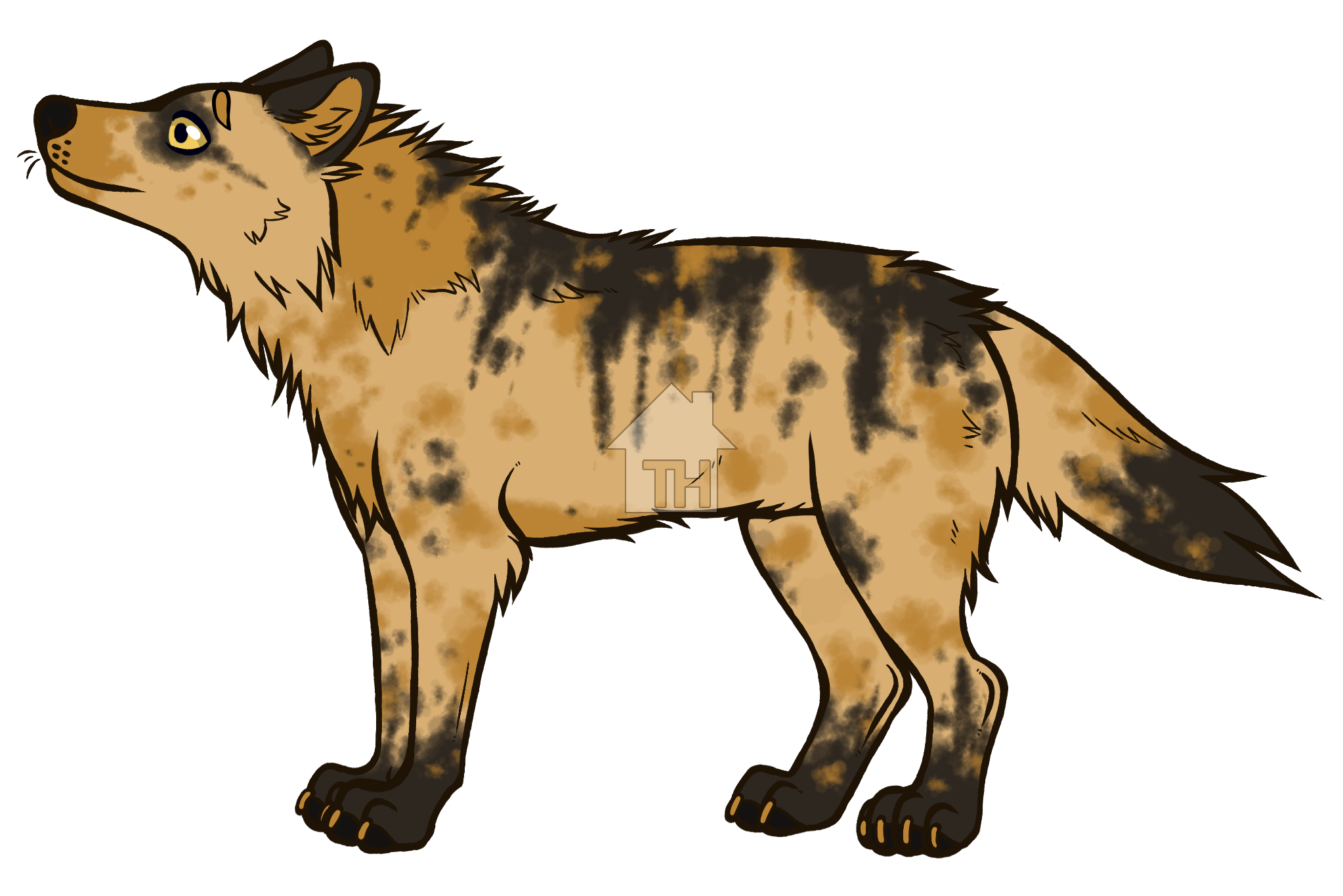 Wolves clipart carnivore. Wolf on toyhouse s