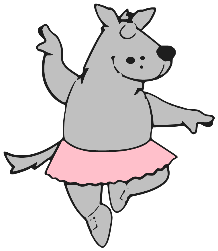 Wolves clipart dancing. Beanie s tag you