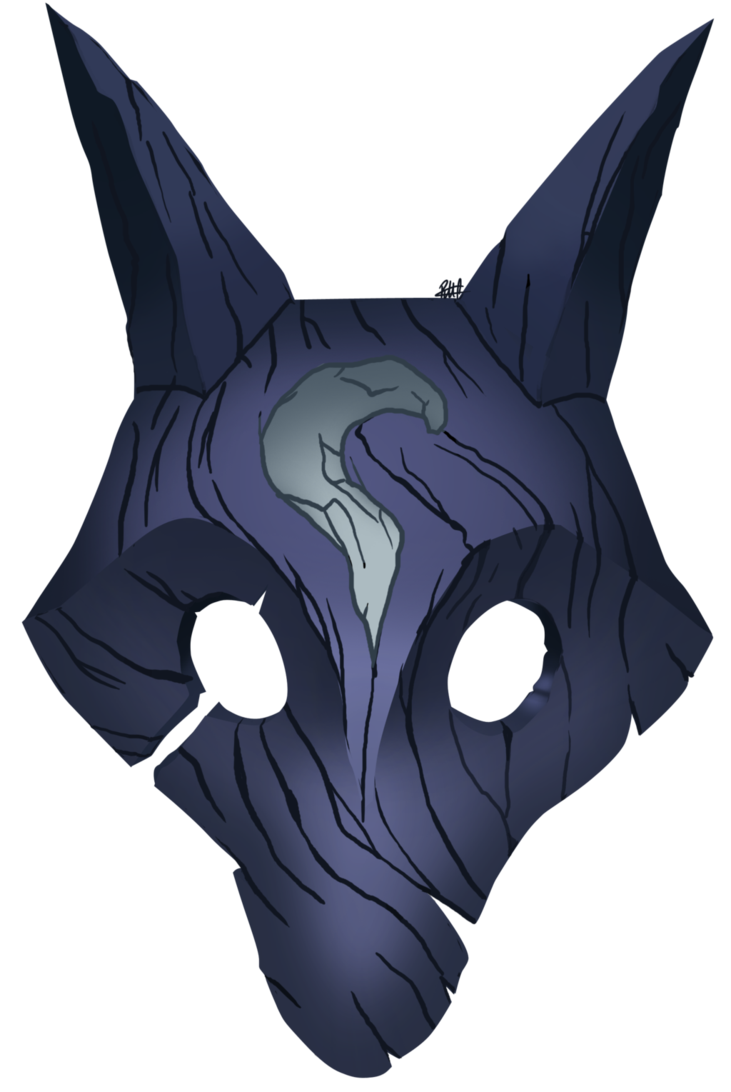 Wolf s mask by. Wolves clipart dragon