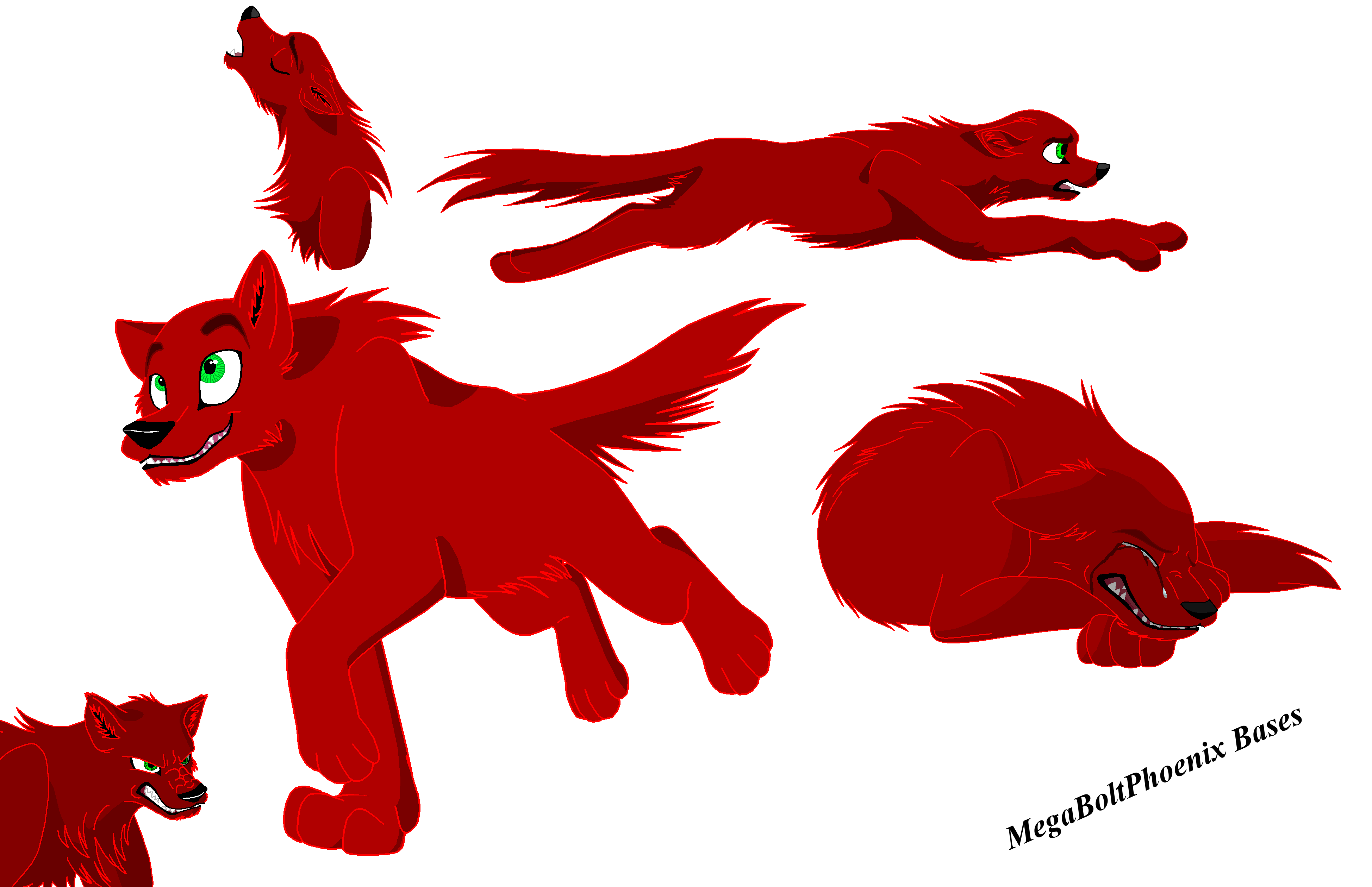 Wolves clipart dragon. Advanced wolf bases school