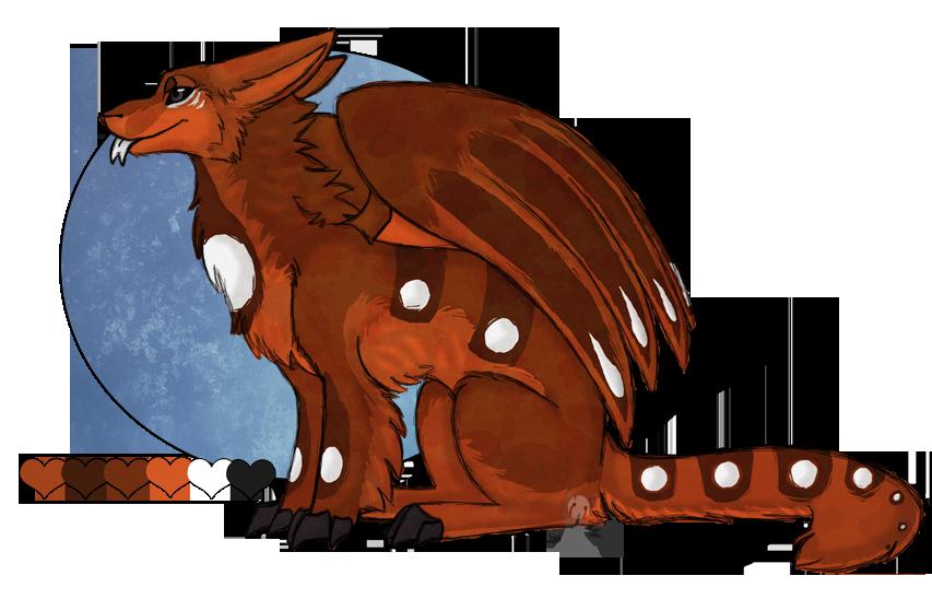 Wolves clipart dragon. Arttrade custom wolf fang