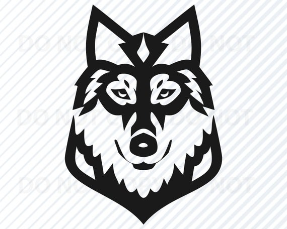 Wolves clipart eps. Wolf head svg files
