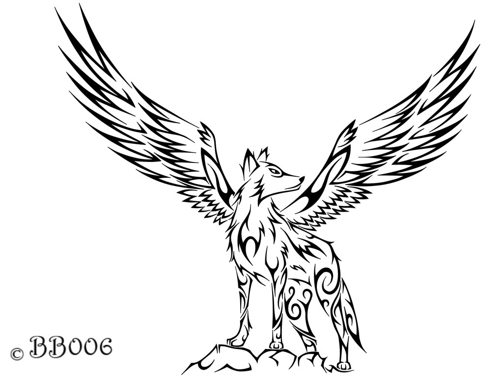 Wolves clipart flying. Picture