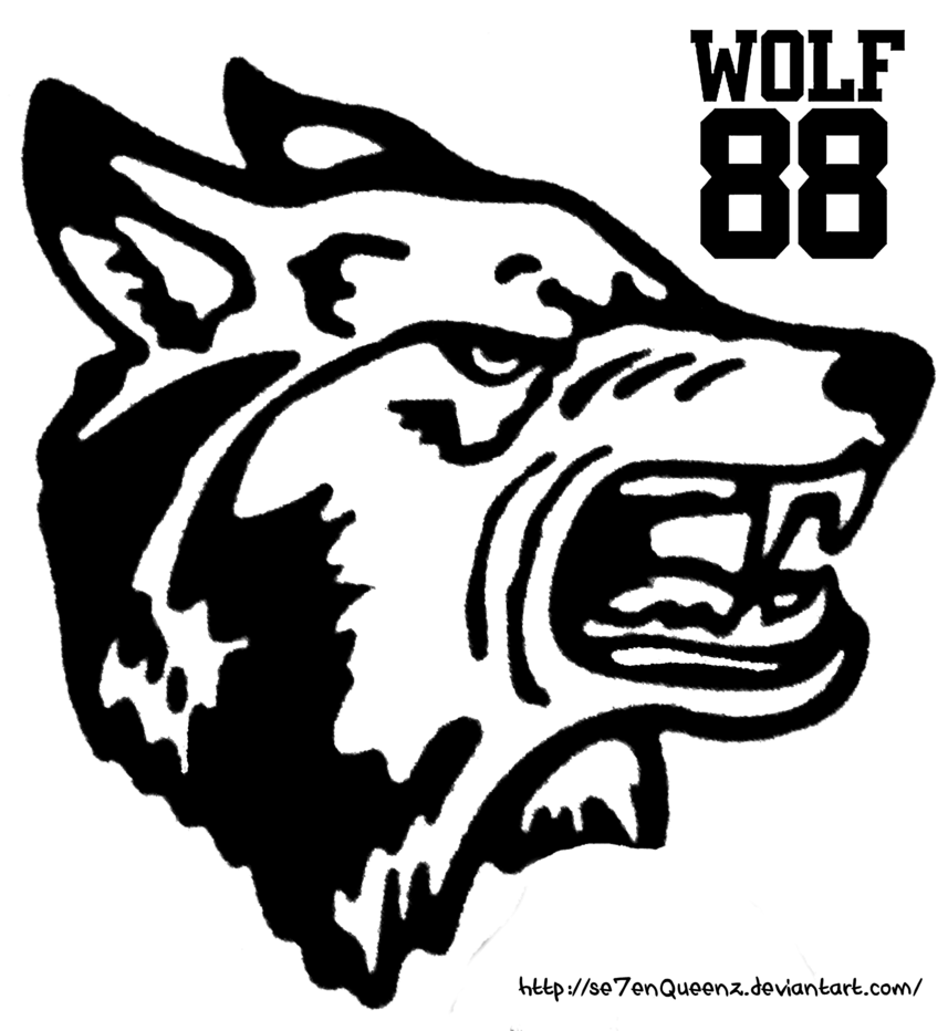 Wolves clipart growl. Exo wolf logo png