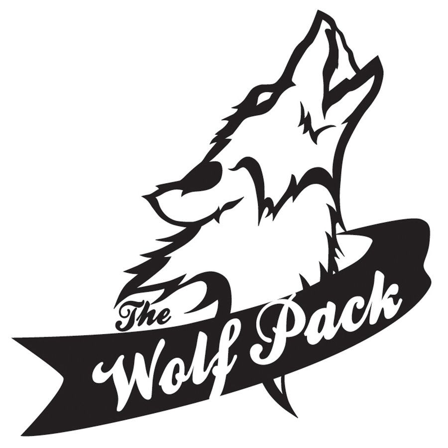 Wolves clipart logo. Clipsuper com the pack