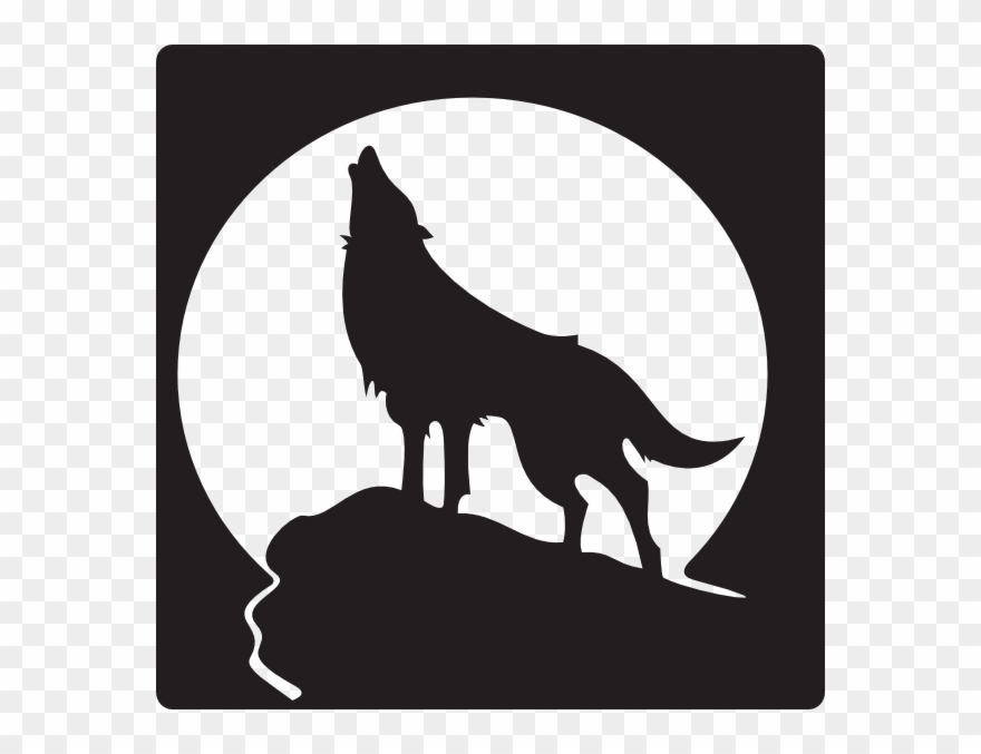 Free clip art on. Wolves clipart lone wolf