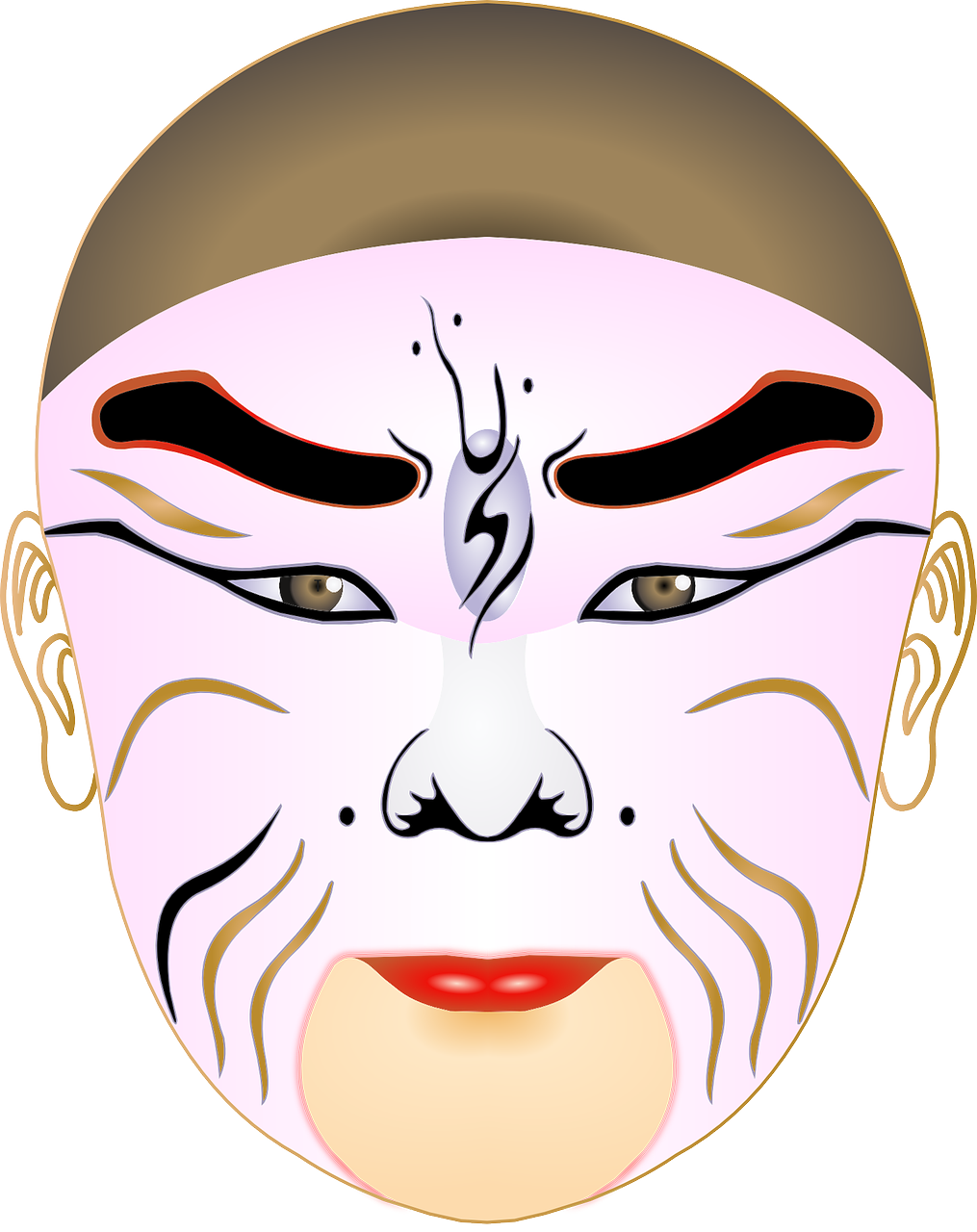 Mask fame wolf clip. Wolves clipart nose