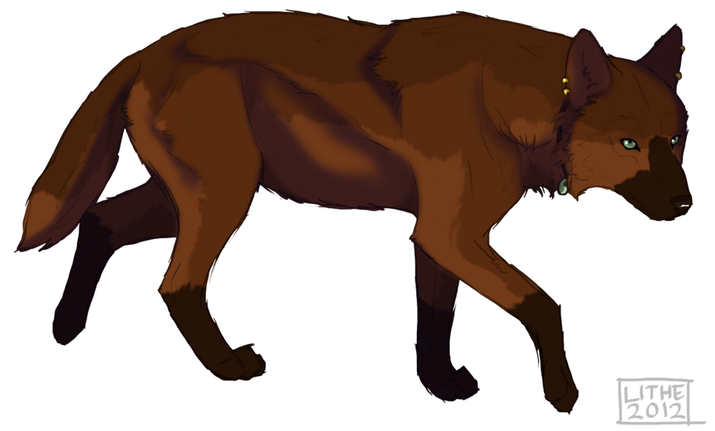 Wolves clipart she wolf. Freya by lithestep on
